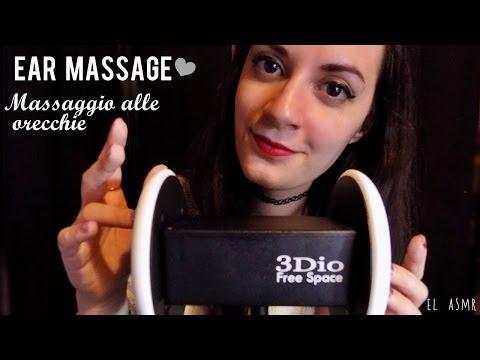 ★ASMR italiano★ MASSAGGIO ALLE ORECCHIE CON OLIO! Spa Roleplay| Ear Massage *3dio*