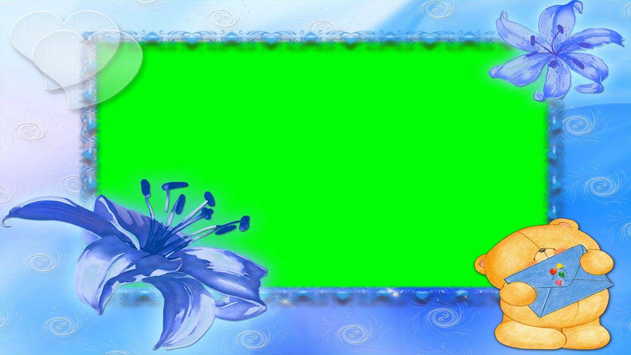 nice photo frame green screen video free for editing 10