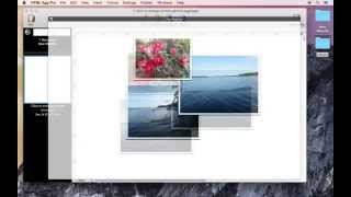 How to add shadow and border to photos using HTML Egg Pro for Mac