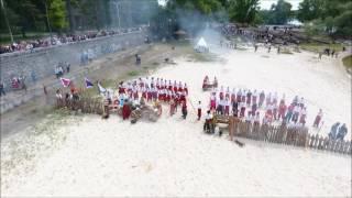 Реконструкция Хотинской битвы в Кременчуге