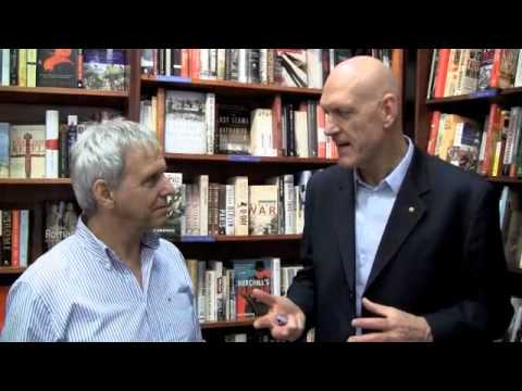 Peter Garrett talks to Mark Rubbo at Readings Carlton about the PM's Literary Awards 2010
