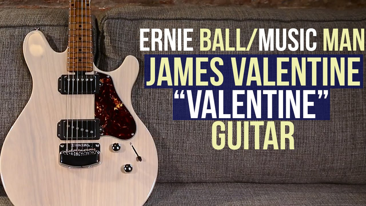 Ernie Ball Music Man James Valentine Valentine Guitar