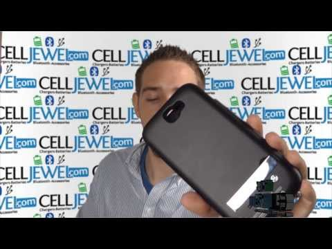 CellJewel.com - Samsung Galaxy Note 2 N7100 4200mAh External Battery Charger Case