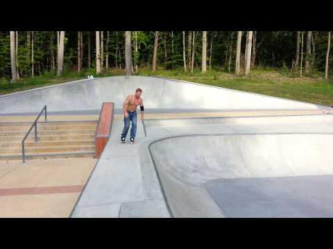 Charles Carson at Cosca skatepark