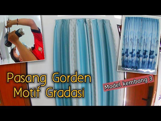 Gorden Motif Gradasi Model Plisket Kembang 3 | PesanGorden.id