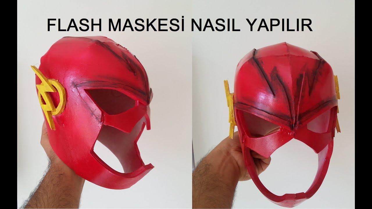 Flash Maskesi Nasil Yapilir Youtube