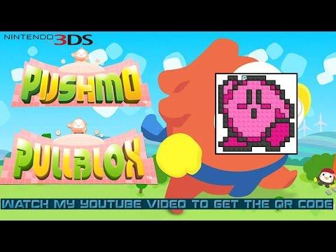 Pullblox Pushmo Hikuosu (3DS) - QR Code - Kirby