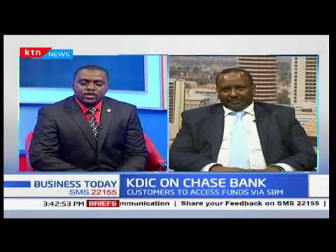 KDIC On Chase Bank: KDIC and CBK signed-off on acquisition of chase bank