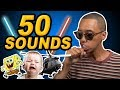 One Guy 50 Sound Effects & Voices | Dontae Catlett