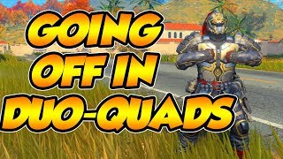 CoD BLACKOUT W/ SiiMSSYY | i DROPPED 21 KiLLS iN A NON-STOP ACTiON DUO-QUADS GAME!!! (30 KiLL DUB)