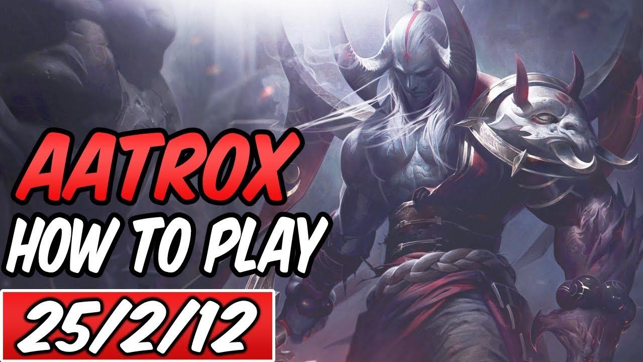 S+ AATROX TOP GUIDE | Build & Runes | Diamond Commentary | League of Legends