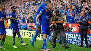 Video Gol Pertandingan Leicester City vs Aston Villa