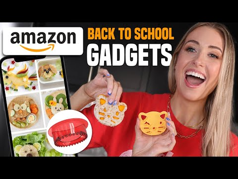 Testing TOP RATED AMAZON GADGETS for BACK TO SCHOOL LUNCHES!