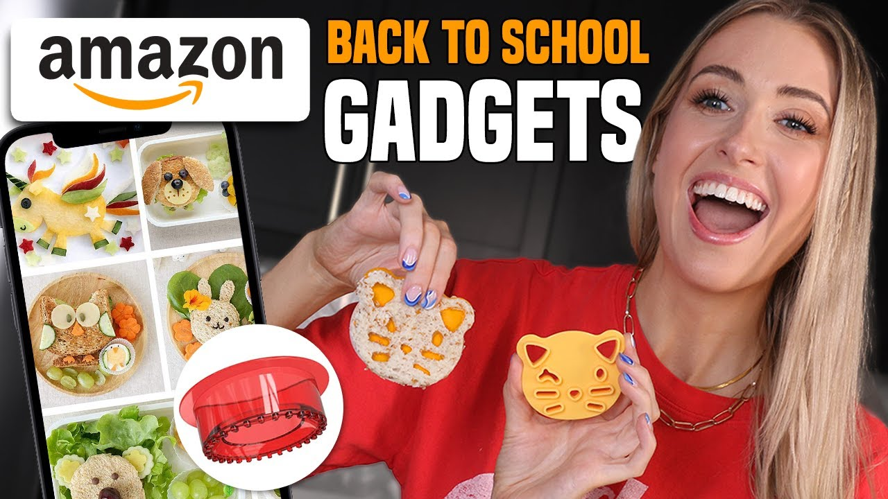 Download Testing TOP RATED AMAZON GADGETS for BACK TO SCHOOL LUNCHES!