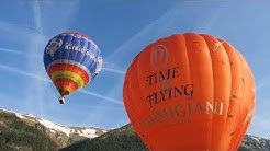 Vol en ballon à Château d'Oex