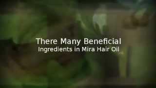Mira Hair Oil Ingredients Mira Hair Growth Oil