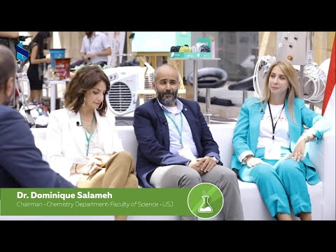 Bank Of Beirut Green Summit With Dr. Dominique Salameh/Faculty Of Science- USJ