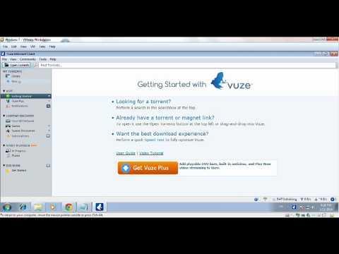 วิธีการ Upload & Download ด้วย Vuze - TT-Torrent.com