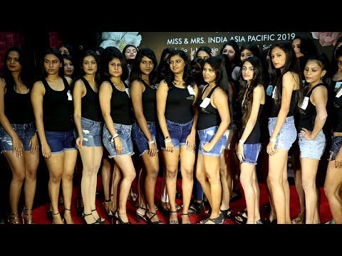 Miss & Mrs india Asia Pacific 2019 Mumbai Model Girls Audition Press Meet