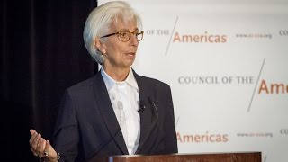 A Conversation with the IMF's Christine Lagarde
