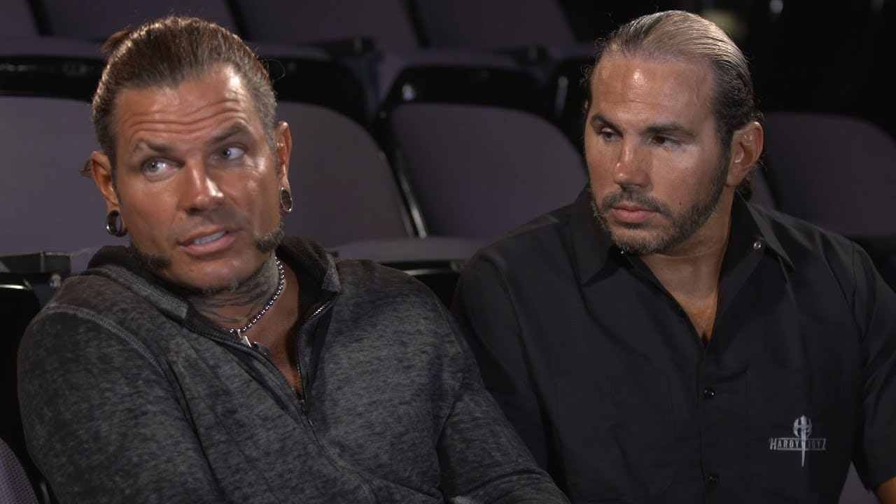 Image result for Matt and Jeff Hardy on their surprise return to WWE (WWE Network Exclusive)