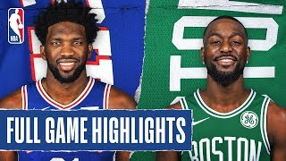 76ERS at CELTICS | FULL GAME HIGHLIGHTS | December 12, 2019