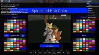 [Roblox] Sonic RP: Wie man Schwänze macht