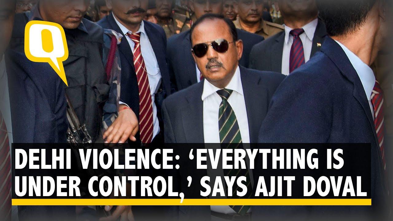 Image result for ajit doval in violence
