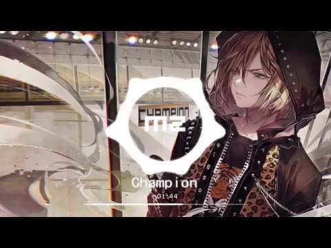 Nightcore ~ Champion (Remix) | Fall Out Boy ft. RM