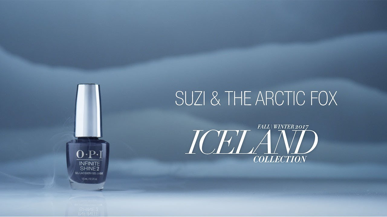 Video:OPI Iceland Shade Story | Suzi & the Arctic Fox