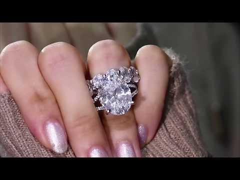 italo-jewelry-oval-split-shank-lab-created-white-sapphire-bridal-rings-set-221257