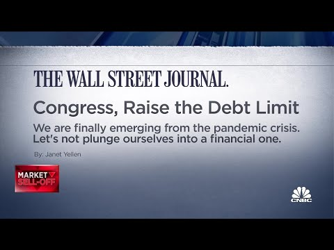 Debt ceiling impact on today's sell-off
