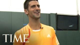 Novak Djokovic Impersonates John McEnroe | TIME