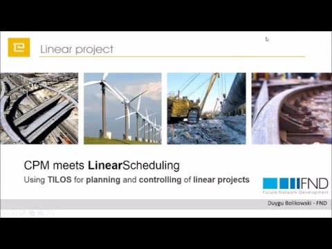 Metro and Tunnel Project Scheduling & Controlling in TILOS - T20