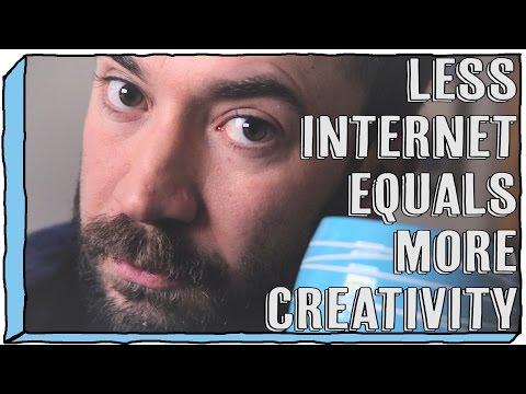Less Internet Equals More Creativity