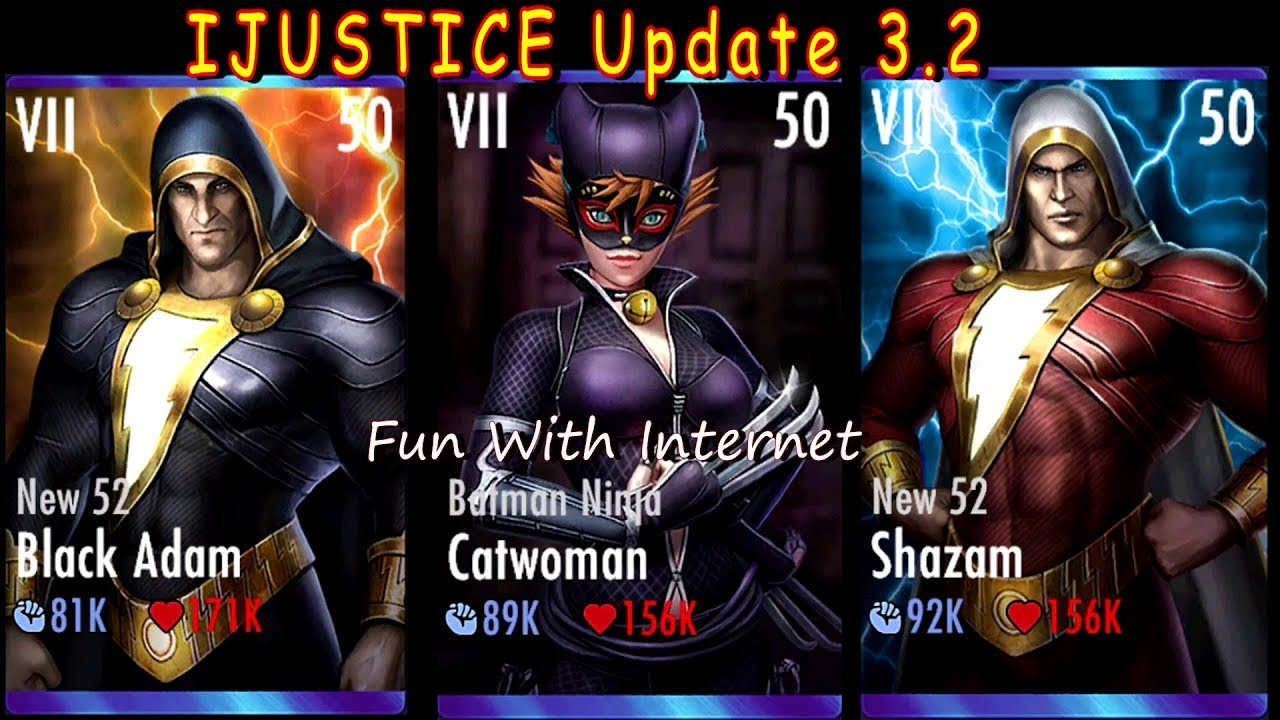 Batman Ninja Catwoman Injustice Mobile Update 3 2 Fully Maxed Gameplay Team Batman Ninja Youtube