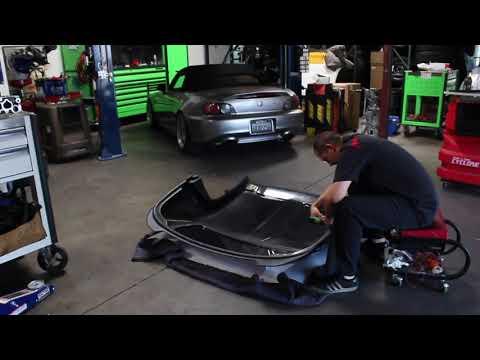 Rockstar Garage Hardtop Installation