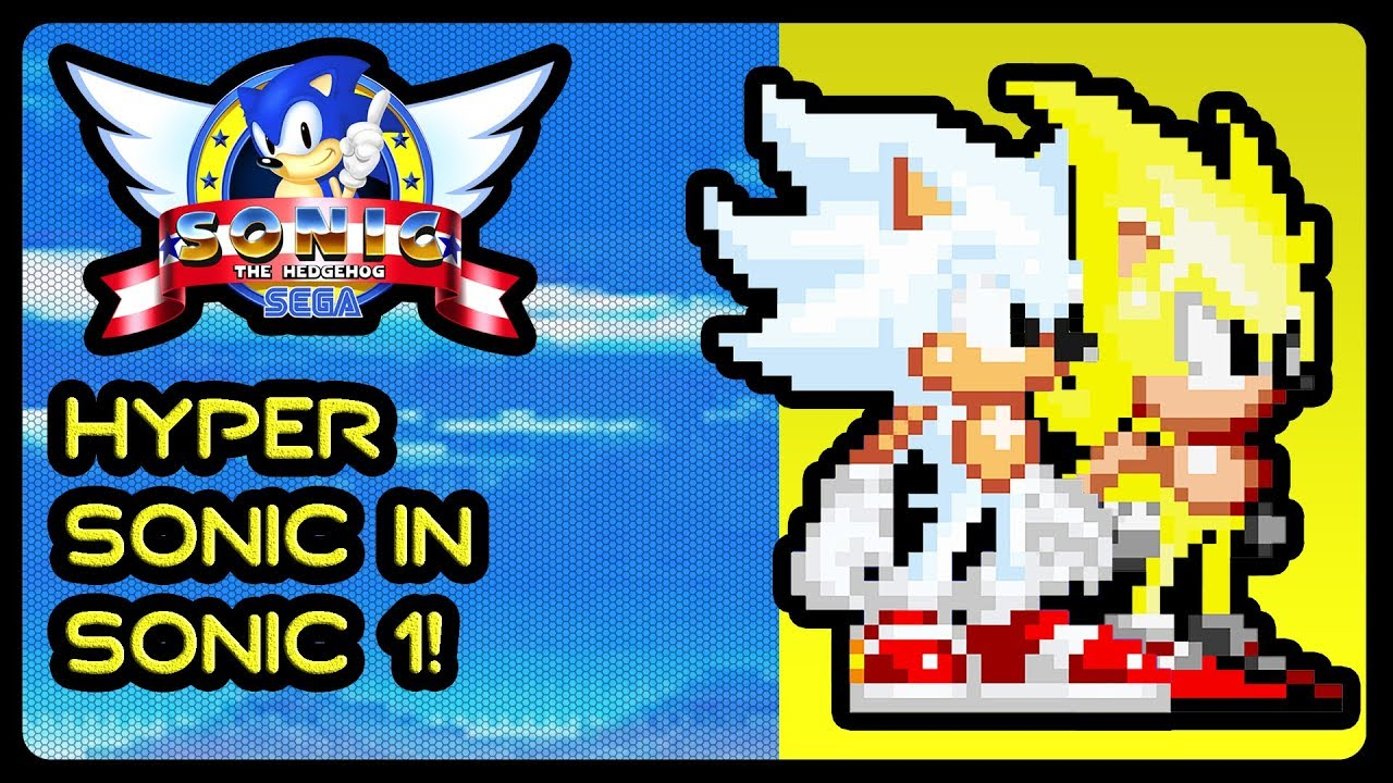 super sonic and hyper sonic in sonic 1 # 6