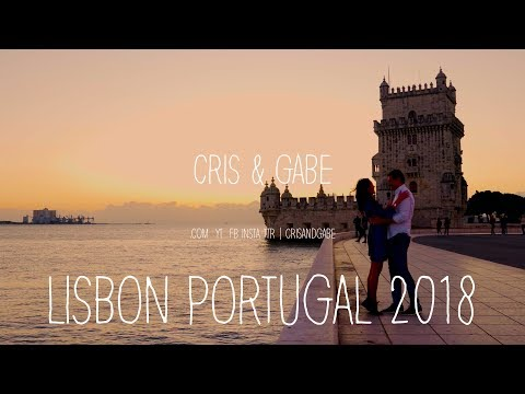 Lisbon Portugal 2018 | A Top Travel Destination in Europe - 4K, No Drone, A6500