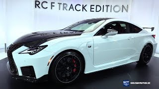 2020 Lexus RC F Track Edition - Exterior and Interior Walkaround - 2019 NY Auto Show