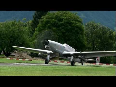 F+W C-3605 HB-RDH first flight after rebuild