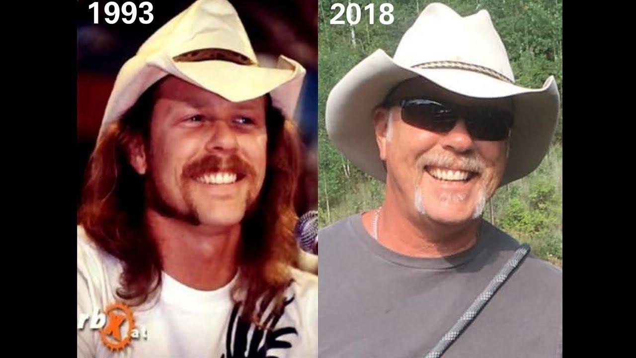 james hetfield through the years (1980-2018)