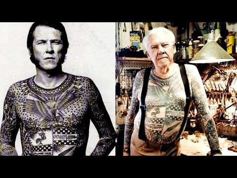 What Do Tattoos Look Like After 40 Years?