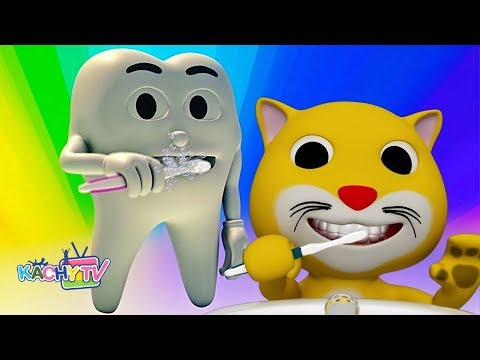 Brush Brush Your Teeth & More Nursery Rhymes & Kids Songs for Children Education by Kachy TV