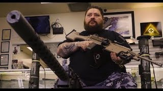 ANTIFA WANNABE OCCUPIES PRIVATE SECTOR ARMS