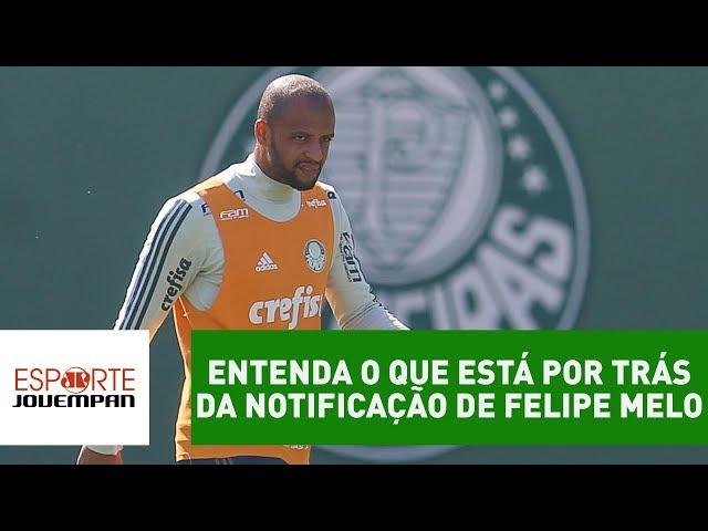 ENTENDA o que está por trás da notificação de Felipe Melo!