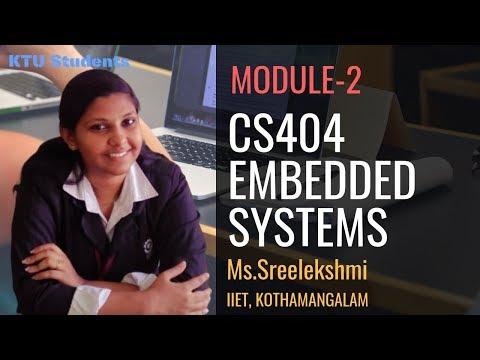 Embedded Systems Module-2   CS404 KTU S8 CSE
