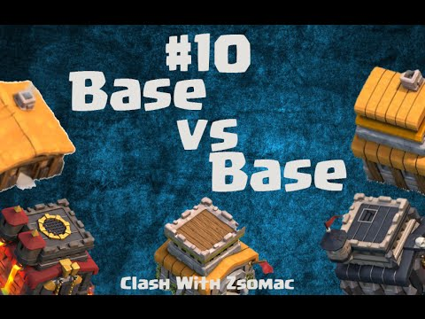 Clash Of Clans | Base vs Base #10 with/Beatoush