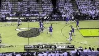 NBA FINALS 2011 Lebron James Monster Off The Rim Follow Dunk Vs Dallas Game 2