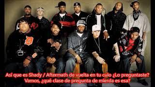 You Don't Know - Eminem ft 50 Cent, Ca$his, Lloyd Banks & Tony Yayo Subtitulada en español